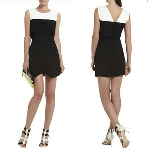 BCBGMaxAzria Annisa Sleeveless Asymmetrical Dress.